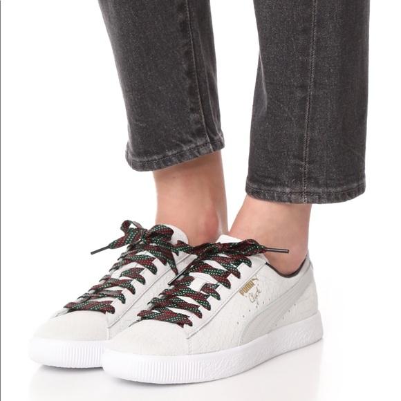 info for 3e588 fa1f5 NEW Puma Clyde GCC Sneaker - Price firm NWT